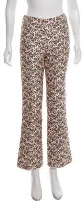 Giambattista Valli Foral Mid-Rise Pants