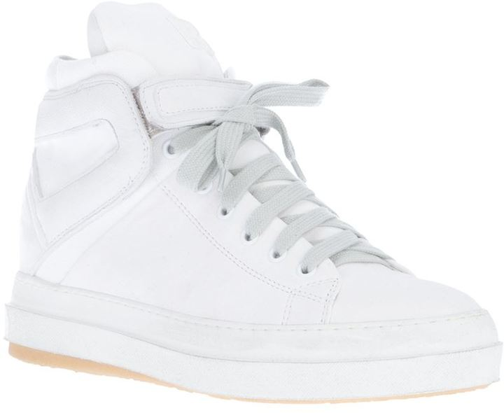 Ruco Line Rucoline paneled hi-top sneaker
