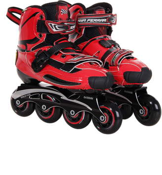 Ferrari (フェラーリ) - Ferrari Carbon Fiber Slalom Inline Skates with Interchangeable Chassis