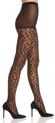 Kate Spade Sheer Leopard Tights