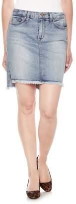 Joe's Jeans Hi-Lo Denim Pencil Skirt