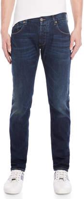 Armani Jeans J23 Low-Rise Slim Fit Jeans