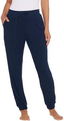 Anybody AnyBody Loungewear Brushed Rib Hacci Slim Jogger Pant