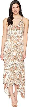 Lucky Brand Women's V-Neck Maxi Dress in