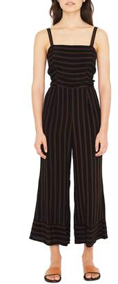 Faithfull The Brand Guanabo Tie Back Stripe Jumpsuit