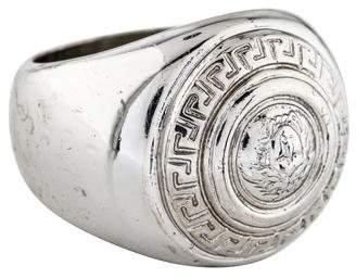 Versace Medusa Wide Ring