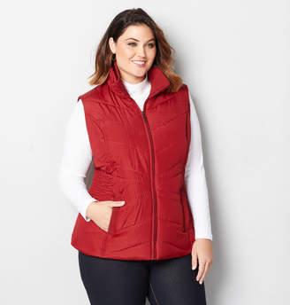 Avenue Zip Up Puffer Vest