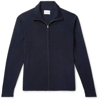 Norse Projects Fjord Slim-Fit Merino Wool And Cotton-Blend Zip-Up Cardigan