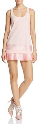 FENTY Puma x Rihanna Pleated Hem Mini Dress $100 thestylecure.com