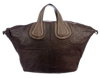 Givenchy Ostrich Leg-Trimmed Nightingale Bag cac30a39f80a3