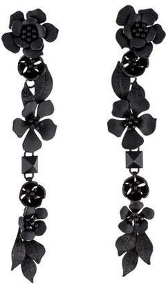 Valentino Floral Drop Earring
