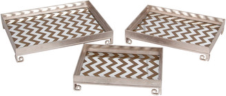 Privilege Set Of 3 Iron Trays