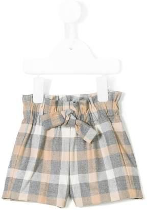 Il Gufo checked shorts