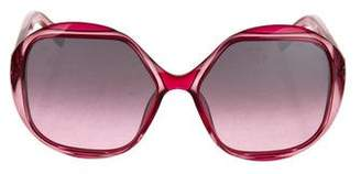 Marc Jacobs Logo Oversize Sunglasses