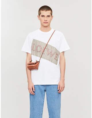 Loewe Floral-print cotton-jersey T-shirt