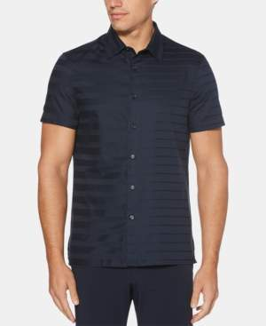 Perry Ellis Men's Slim-Fit Striped Shirt