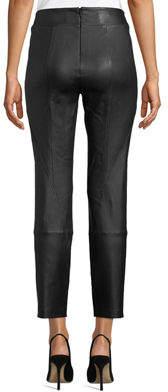 Lafayette 148 New York Brooklyn Stretch-Napa Leather Leggings