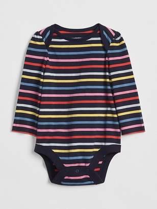 Gap Print Long Sleeve Bodysuit