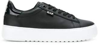 Emporio Armani Ea7 platform sneakers
