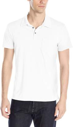 Splendid Mills Men's Pigment Basic Polo Shirt