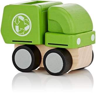 Plan Toys WOODEN MINI-GARBAGE TRUCK