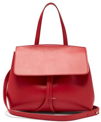 Mansur Gavriel Mini Lady Leather Cross Body Bag - Womens - Red