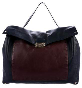 Valentino Bicolor Leather Backpack