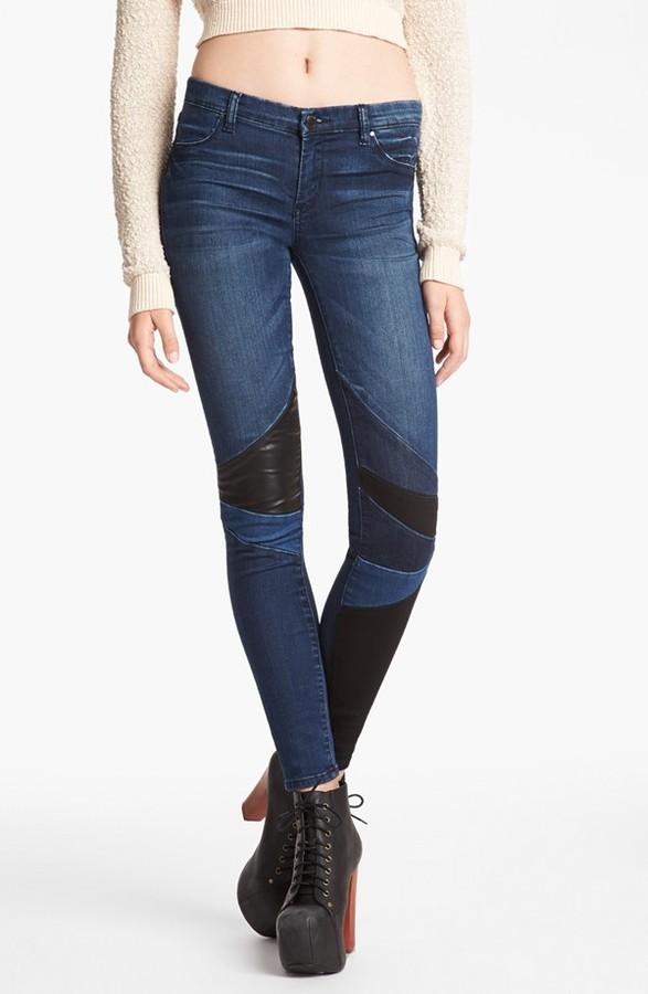 Blank NYC BLANKNYC 'Spray On' Super Skinny Jeans (Bonner Pilot)