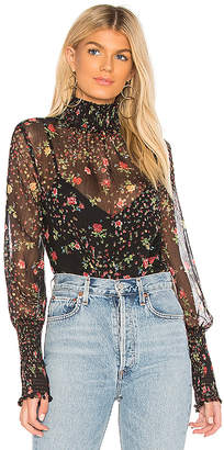 Bailey 44 Misha Floral Printed Blouse