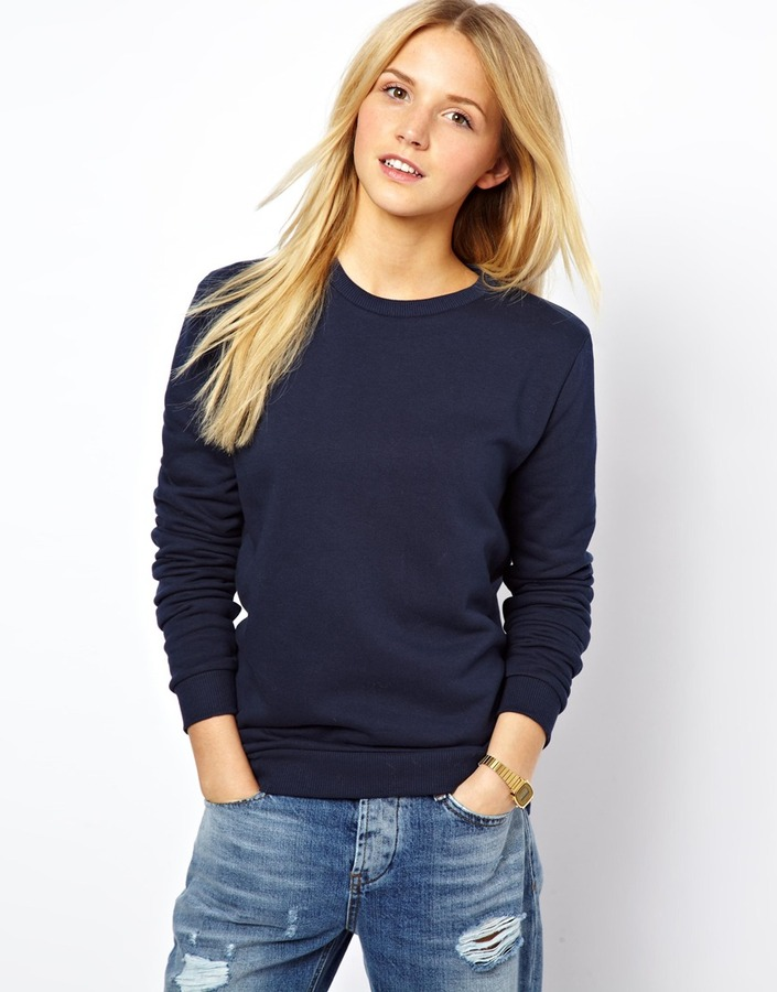 Asos Boyfriend Sweatshirt