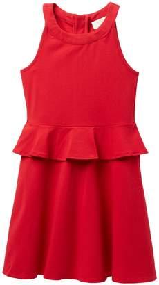 Kate Spade peplum waist dress (Big Girls)