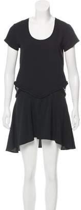 For Love & Lemons Short Sleeve Mini Dress