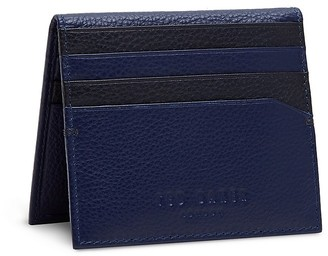 Ted Baker Colored Leather Bi-Fold Card Case $85 thestylecure.com