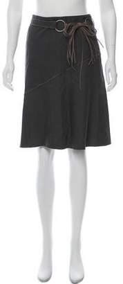 Burberry Blue Label A-Line Knee-Length Skirt w/ Tags