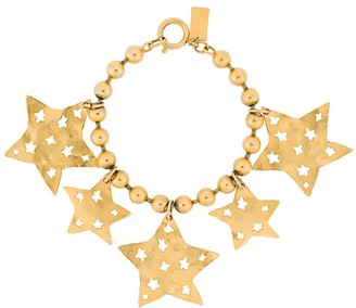 Kenzo Pre-Owned star pendants Bobble bracelet