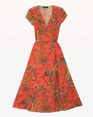 Juicy Couture Rustic Paisley Wrap Dress