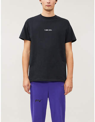 Selfridges Famt Graphic-print cotton-jersey T-shirt