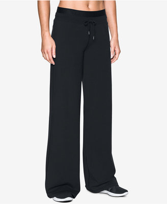 Under Armour Favorite Wide-Leg Pants $64.99 thestylecure.com