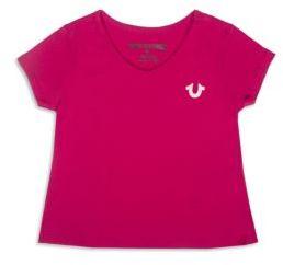 True Religion Baby's Short Sleeve V-Neck T-Shirt $30 thestylecure.com