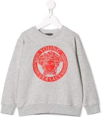 Versace Medusa print sweatshirt