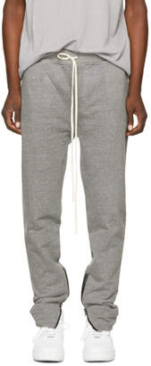 Fear Of God Grey Zip Lounge Pants