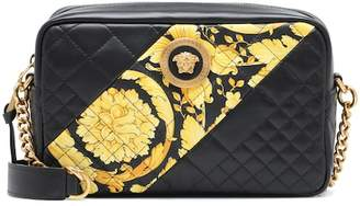 Versace Icon Camera leather shoulder bag