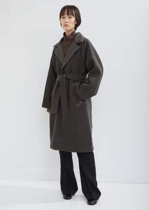 MACKINTOSH Gown Wrap Wool Coat