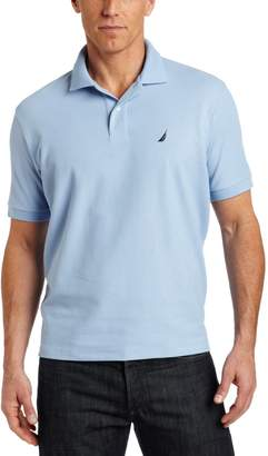 Nautica Men's Big & Tall Solid Deck Polo Shirt