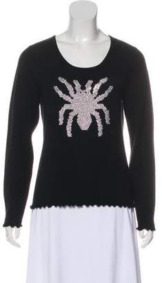 Allude Embellished Cashmere Sweater