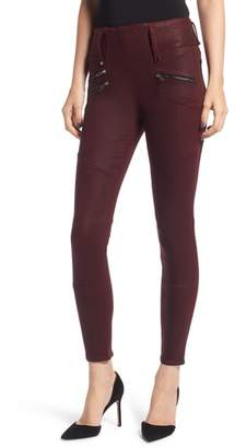 Hudson High Waist Coated Skinny Jeans