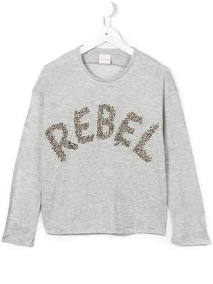 Diesel rebel embellished top