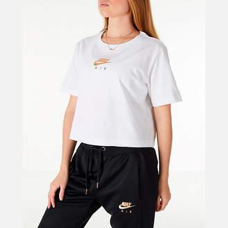 Nike Women's Sportswear Air Short Sleeve Crop T-Shirt