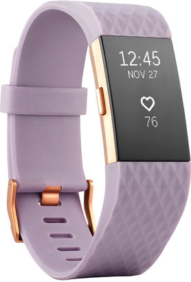 Fitbit Unisex Charge 2 Lavender Strap Heart Rate + Fitness Wristband Small - Special Edition $179.99 thestylecure.com