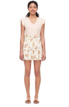Rebecca Taylor La Vie Madeleine Floral Lurex Short
